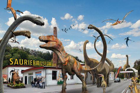 Sauriermuseum, Seegraeben, Switzerland