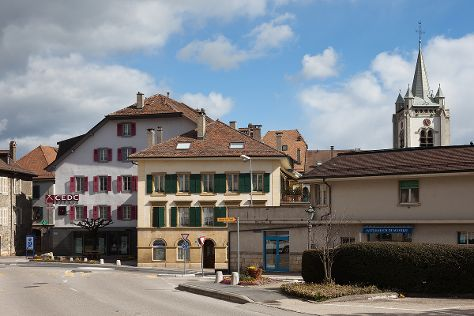Vieille ville, Cossonay, Switzerland