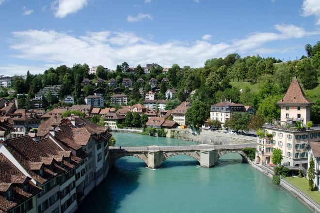 Aare River, Bern, Switzerland
