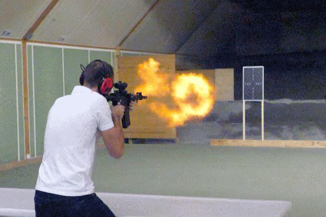 Action Solution Swiss - Shooting activity, Lungern, Switzerland