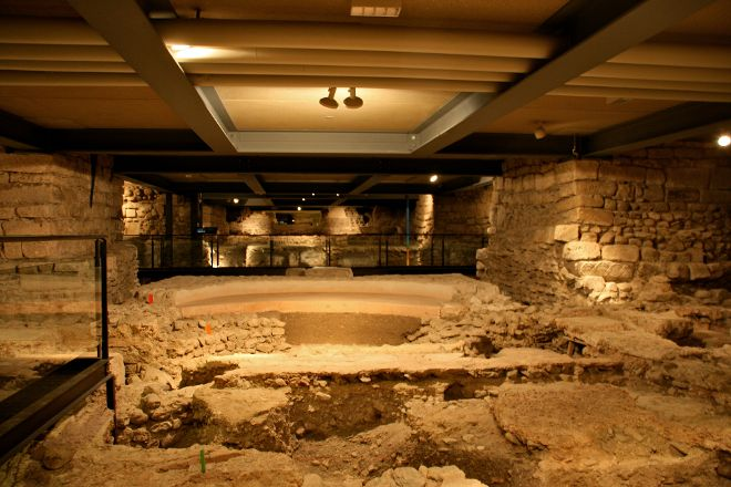 Archeological Site at St. Pierre's Cathedral, Geneva, Switzerland