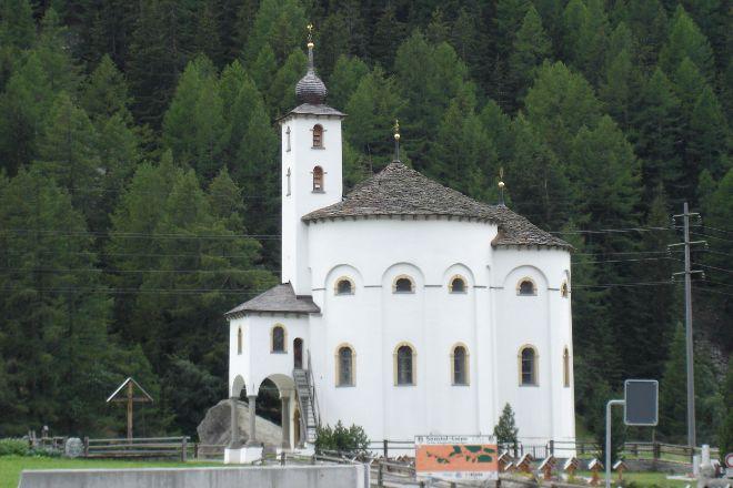 Baroque Church, Saas-Balen, Switzerland
