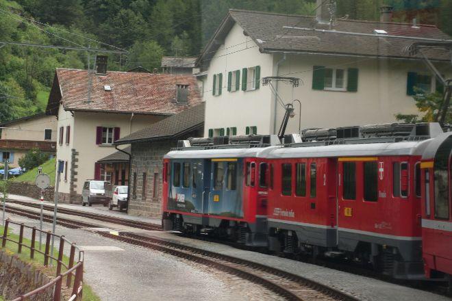 Bernina Express, Swiss Alps, Switzerland