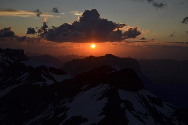 Bluemlisalphutte SAC 2840m, Kandersteg, Switzerland