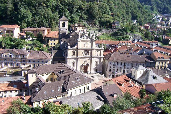 Chiesa Collegiata dei SS Pietro e Stefano, Bellinzona, Switzerland