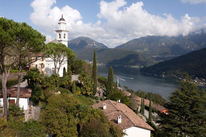 Chiesa dei Santi Fedele e Simone, Vico Morcote, Switzerland