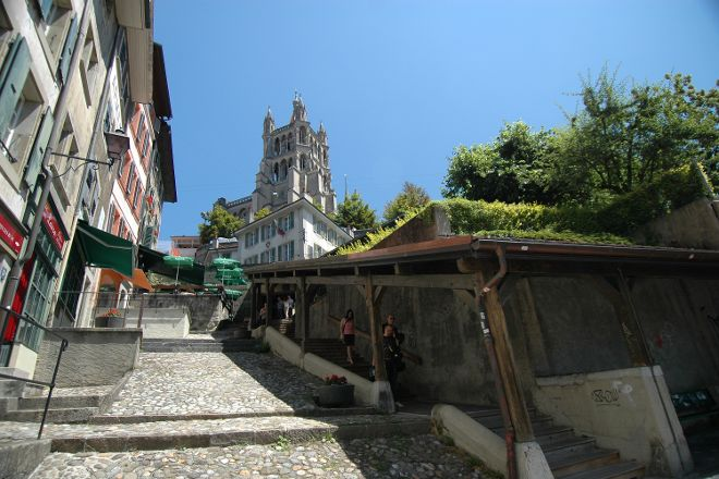 Escaliers du Marche, Lausanne, Switzerland
