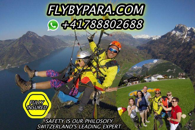 Flybypara, Zermatt, Switzerland