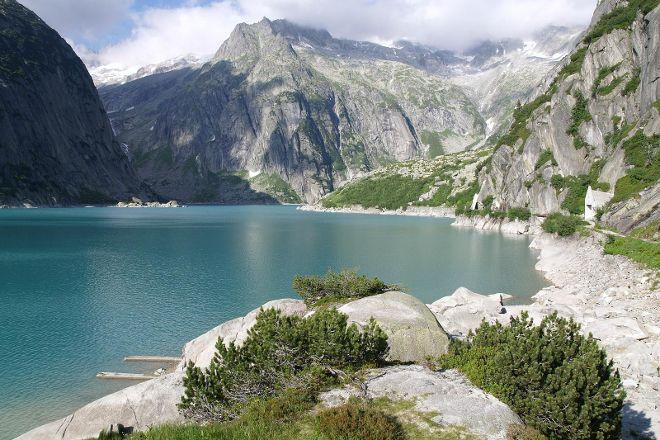 Gelmersee, Bernese Oberland, Switzerland