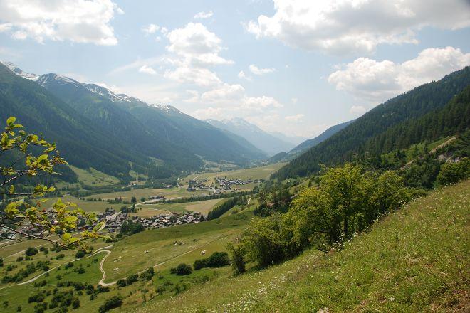 Gommer Hohenweg, Bellwald, Switzerland