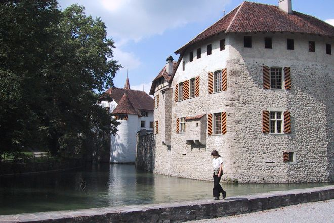 Hallwyl Castle, Seengen, Switzerland