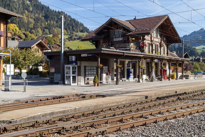 Historical village of Saanen, Saanen, Switzerland