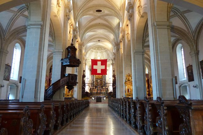 Hofkirche, Lucerne, Switzerland