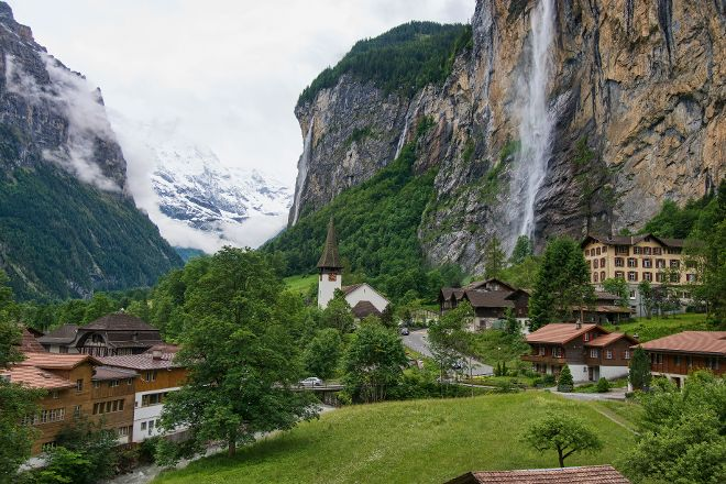 Lauterbrunnen Village, Lauterbrunnen, Switzerland