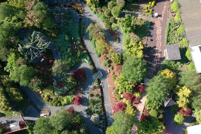 Le Jardin Zen, Aigle, Switzerland
