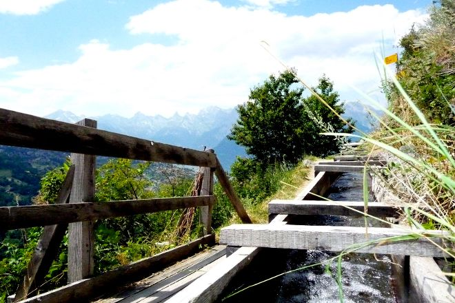 Les Bisses de Nendaz, Nendaz, Switzerland