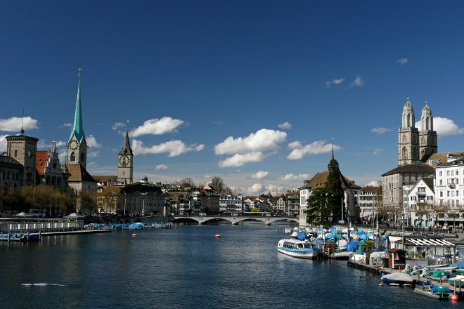 Limmat, Zurich, Switzerland