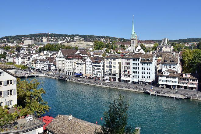 Limmatquai, Zurich, Switzerland