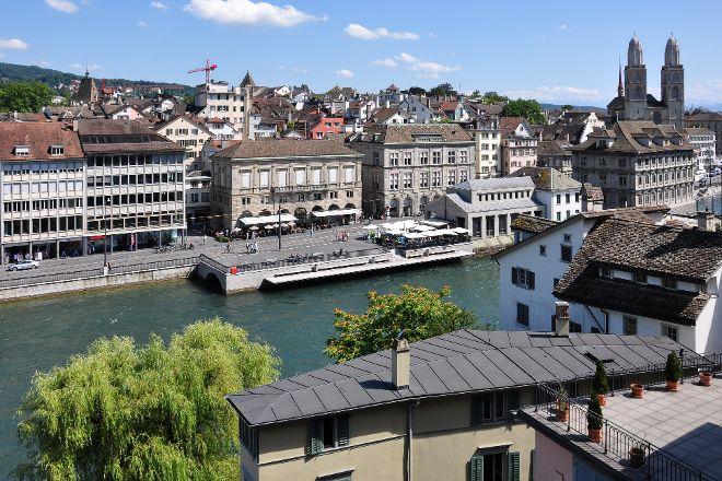 Lindenhofplatz, Zurich, Switzerland