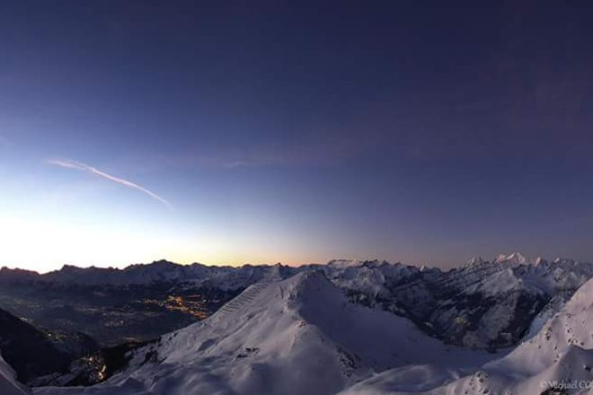 Obser-va-toire Francois-Xavier Bagnoud, Saint-Luc, Switzerland