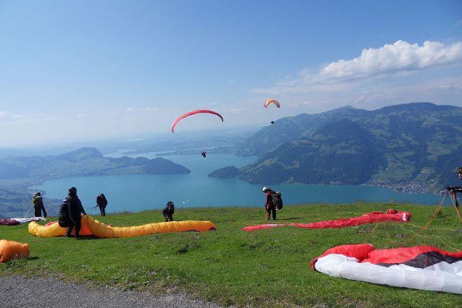 Paragliding Luzern, Kriens, Switzerland