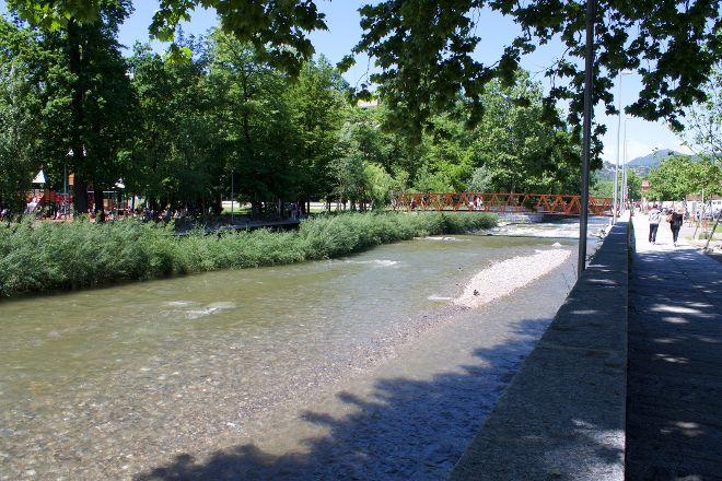 Parco Sul Fiume Cassarate Al Piano Stampa, Lugano, Switzerland
