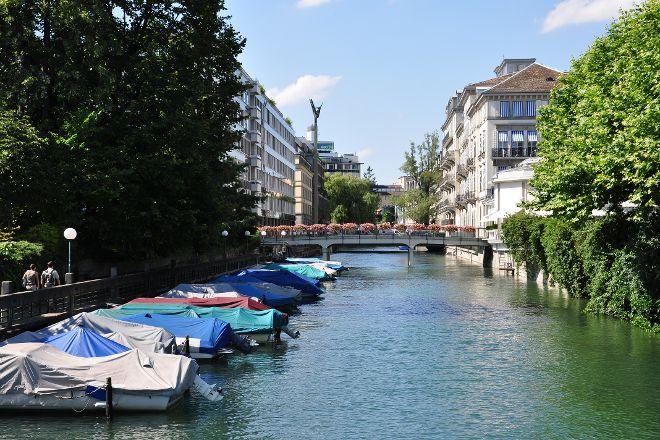 Schanzengraben Canal, Zurich, Switzerland