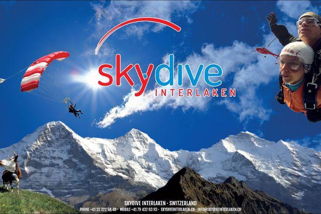 Skydive Interlaken, Wilderswil, Switzerland