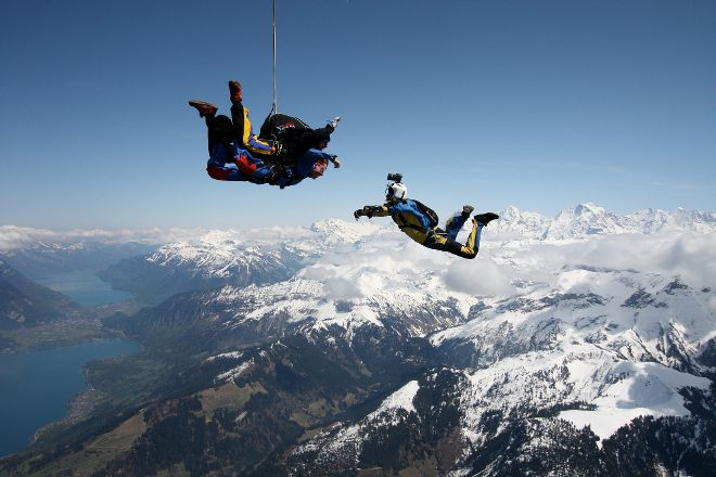 Skydive Switzerland, Interlaken, Switzerland