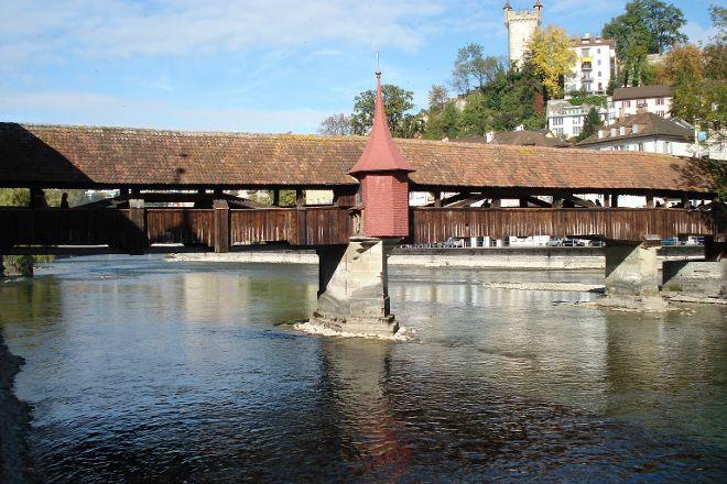 Spreuer Bridge (Spreuerbrucke), Lucerne, Switzerland
