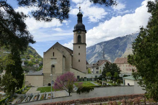 St. Maria Himmelfahrt Cathedral, Chur, Switzerland
