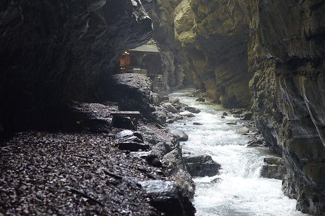 Tamina Gorge, Bad Ragaz, Switzerland