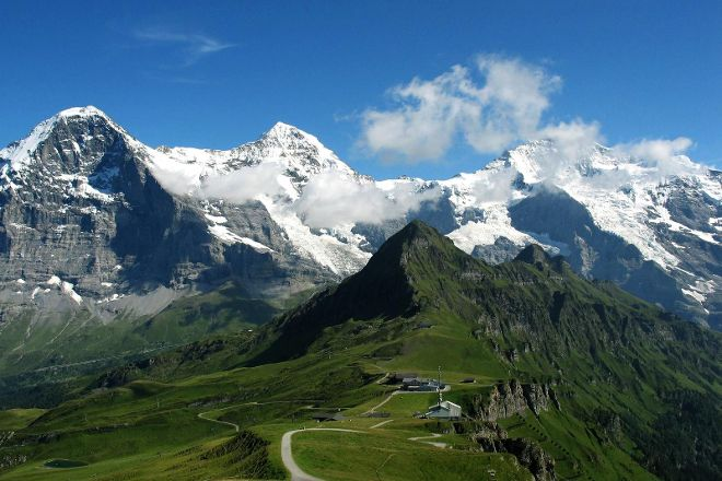 The Eiger, Jungfrau Region, Switzerland