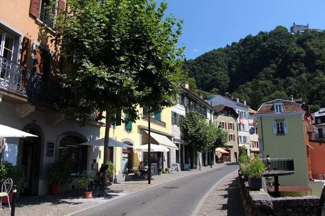 Vieille-Ville de Montreux, Montreux, Switzerland