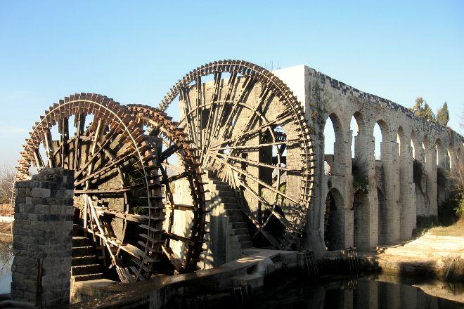 Norias (Water Wheels), Hamah, Syria