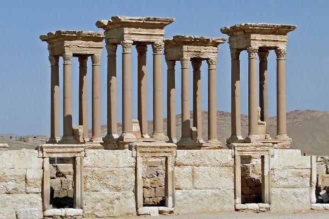 The Tetrapylon, Palmyra, Syria
