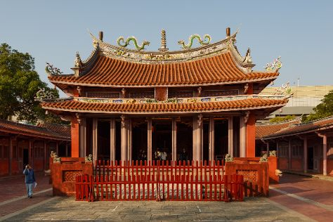 Confucius Temple, West Central District, Taiwan