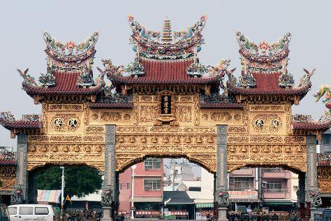 Donglong Temple, Donggang, Taiwan