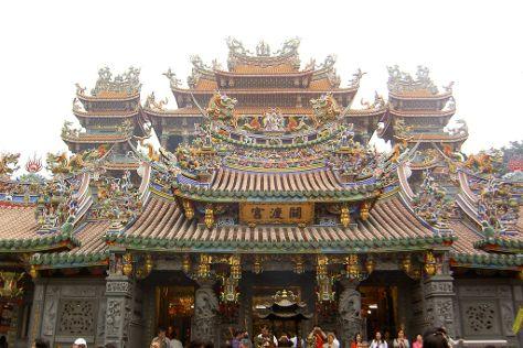 Guandu Temple (Kuantu Temple), Beitou, Taiwan