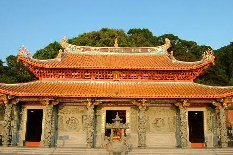 Magang Temple, Matsu, Taiwan