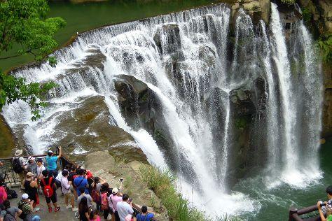 Shifen Waterfall Walk Area, Pingxi, Taiwan