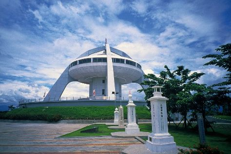the Monument of Tropic of Cancer, Chiayi, Shuishang, Taiwan
