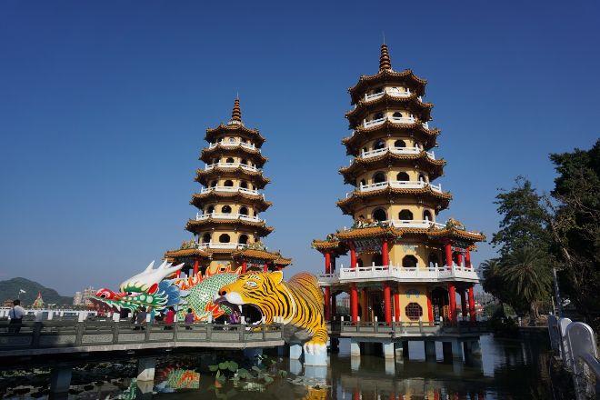 Dragon Tiger Tower, Zuoying, Taiwan