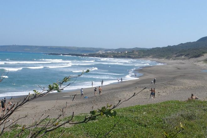 Jialeshuei Surf Beach, Manzhou, Taiwan