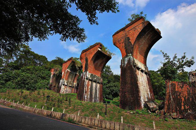 Lonsheng Fallen Bridge, Sanyi, Taiwan