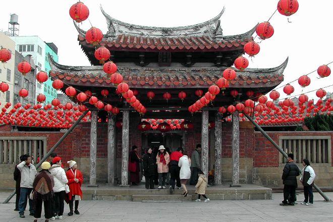 Lugang Longshan Temple, Lukang, Taiwan
