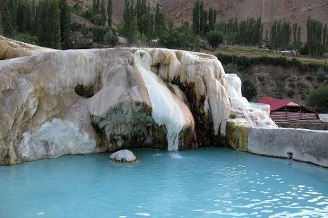 Garm Chashma, Khorog, Tajikistan