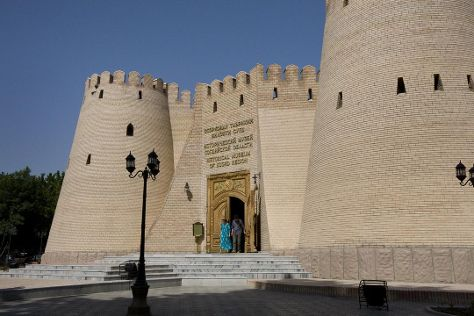 Historical Local Lore Museum of Archeology and Fortification, Khujand, Tajikistan