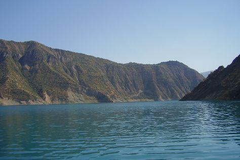 Nurek Dam, Nurek, Tajikistan