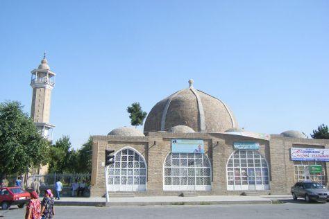 Olim Dodkho Mosque, Panjakent, Tajikistan